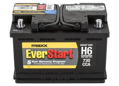 EverStart MAXX H6 Car Battery   Consumer Reports
