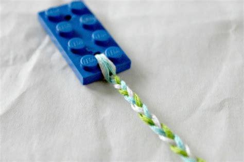 Lego Bracelet diy lego friendship bracelets kidsomania