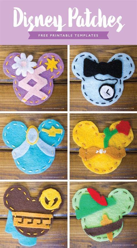 crafts disney disney patches pan craft ideas disney