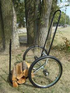 Mid west log caddy firewood carts carts on the go