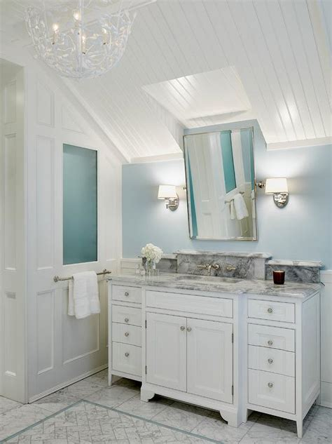 blue bathroom ceiling stunning 80 bathroom ceiling sconces inspiration of