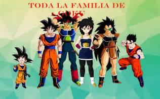La Familia Toda La Familia De Goku
