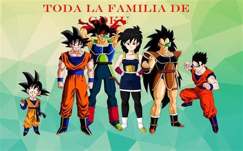imagenes de la familia de goku toda la familia de goku youtube