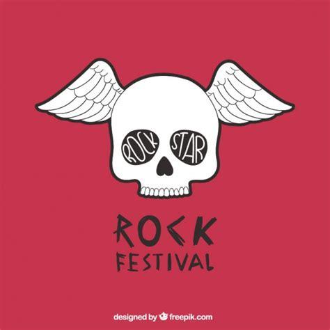 descargar imagenes rockeras gratis p 243 ster de festival de rock con una calavera descargar