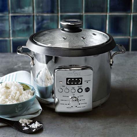 Grains Rice Cooker all clad electric rice grain cooker williams sonoma