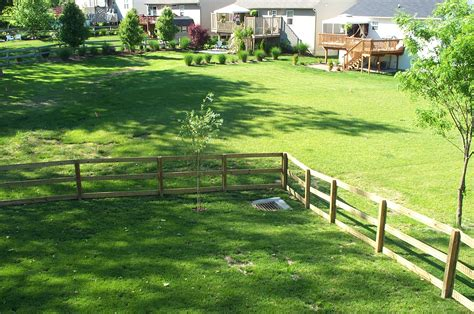 Picture Of A Backyard by File Typical Suburban Backyard Jpg