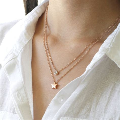 Layered Necklace gold layered necklace by attic notonthehighstreet