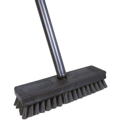 patio cleaning brush deck scrub brush heavy duty garage floor cleaning tool