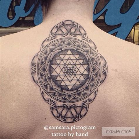 yantra tattoo pinterest 25 best ideas about sri yantra tattoo on pinterest