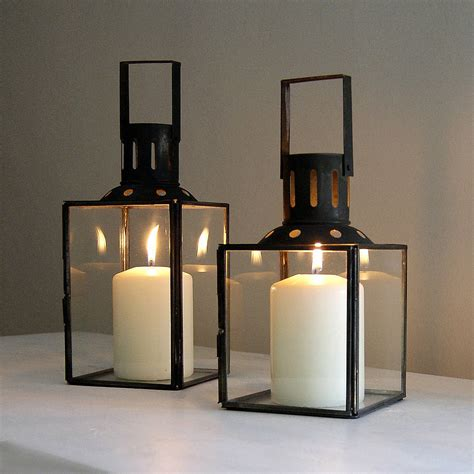hurricane lantern by red lilly notonthehighstreet com