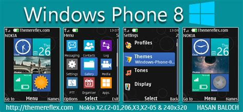 Themes Nokia X2 02 Windows 8 | windows phone 8 live theme for nokia x2 00 x2 02 x2 05