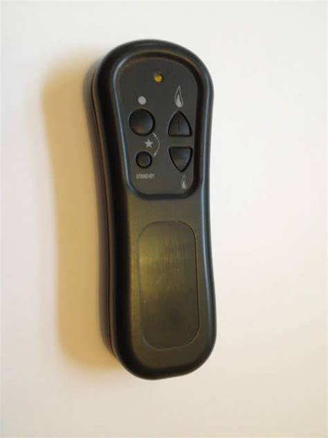 kinder gas fire remote control repair