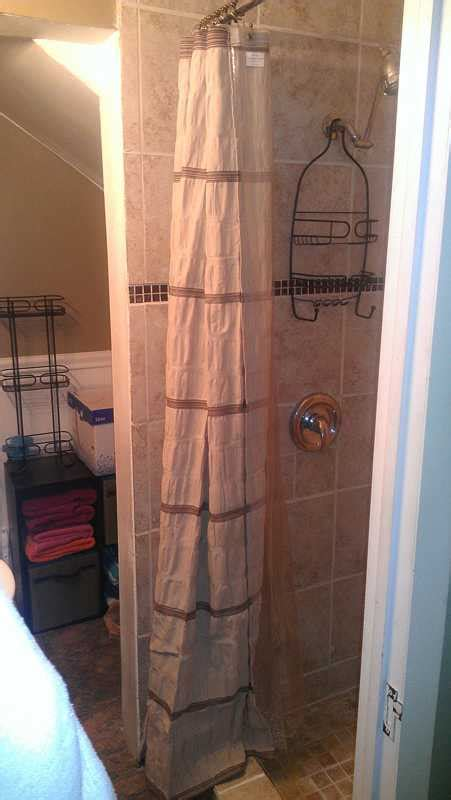 shower curtain over shower door installing shower doors vs shower curtains cost likes