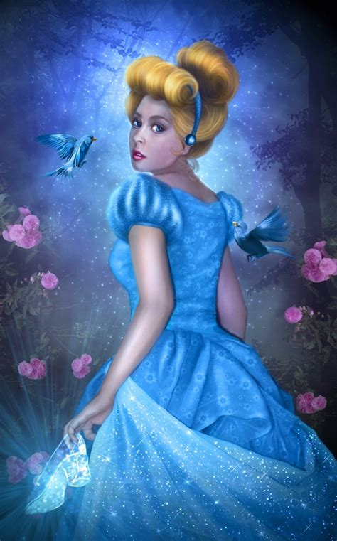 free cinderella painting cinderella by donatelladrago on deviantart