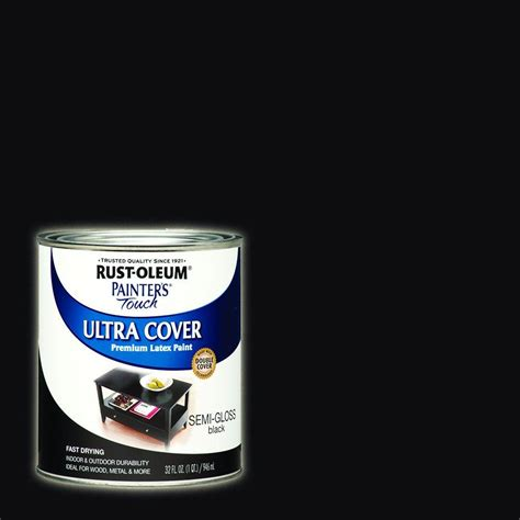 gloss paint rust oleum painter s touch 32 oz ultra cover semi gloss