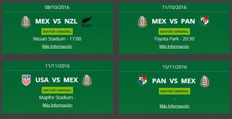 Calendario De Juegos De La Seleccion Mexicana Convocatoria Seleccion Mexicana Hexagonal Vs Usa Y Panama