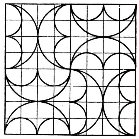 tile pattern worksheets tessellation clipart etc