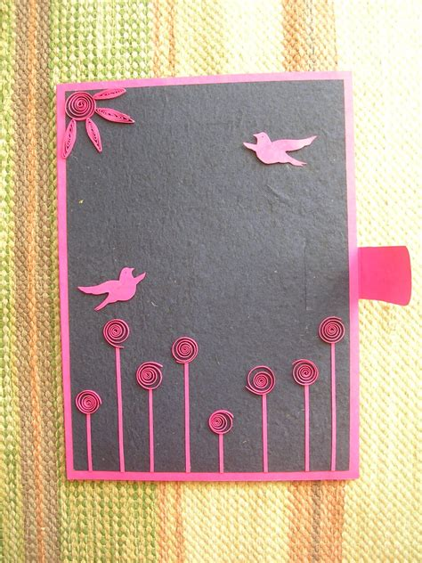 Handmade Paper Folders - vishesh collections handmade by deepti quilled file folder