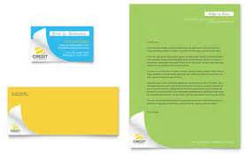 Microsoft Office Credit Card Template Financial Services Letterhead Templates Word Publisher
