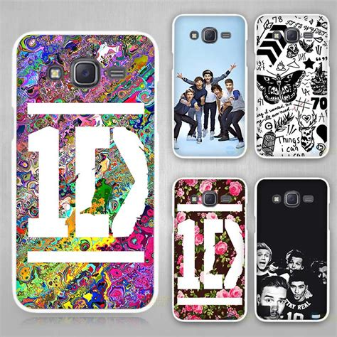 Hardcase Casing Leather Samsung J2 J5 J7 Sarung Kulit ᗜ Lj one direction ᗔ band band white cover for samsung galaxy galaxy j1 j2 j3
