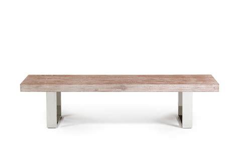 elm bench modern dining tables archives la furniture blog