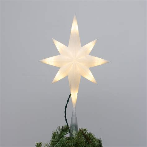 white tree topper 28 images warm white glittering