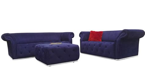 tufted sofa and loveseat set modern blue fabric tufted elizabeth sofa and loveseat set