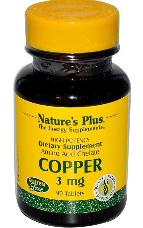 supplement zinc and copper copper supplement gezondheid en goede voeding
