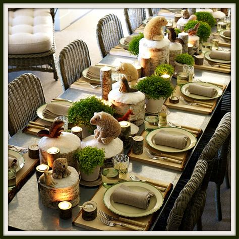 rustic tablescapes rustic christmas tablescapes images
