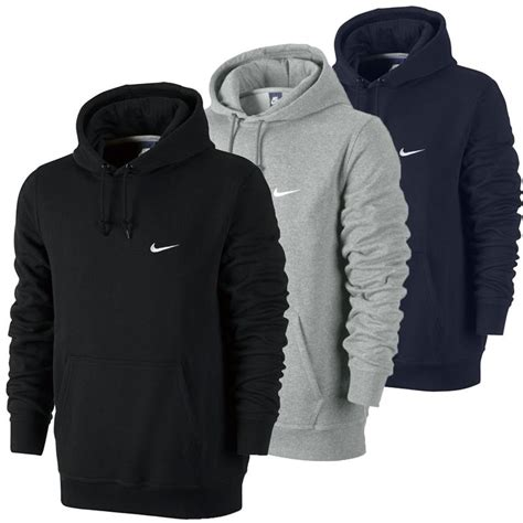 Hoodie Sweater Nike Original Size M Thermafit nike swoosh club hoody fleece s classic sweatshirt