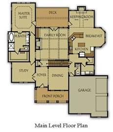 house plans master on main 4 bedroom house plan with master bedroom on main level