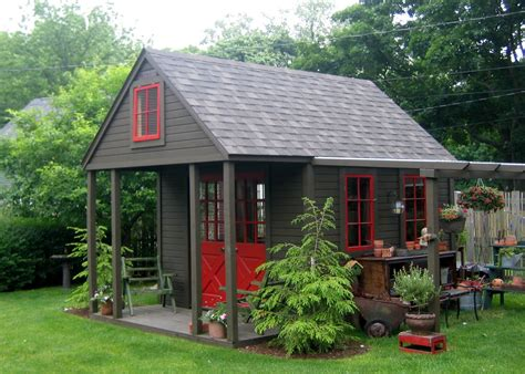 Nappanee Home And Garden Club Garden Sheds Porches Backyard Shed Ideas
