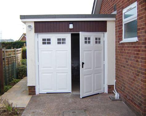 Swinging Garage Doors by 1000 Ideas About Side Hinged Garage Doors On