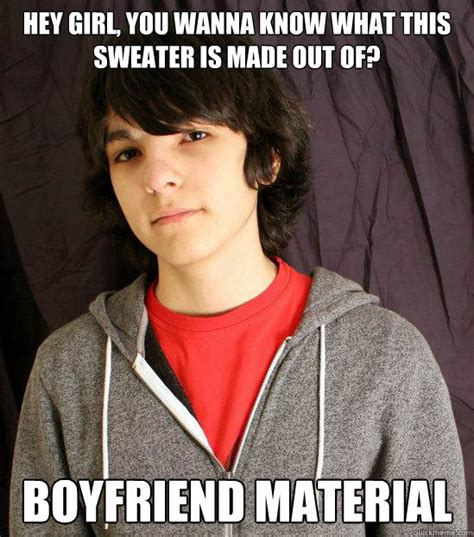Meme Sweater - hey girl you wanna know what this sweater is made out of