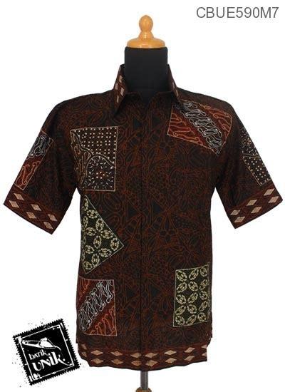 Kemeja Batik Motif Khas Pekalongan kemeja batik ekslusive pekalongan motif hitam pola kemeja lengan pendek murah batikunik