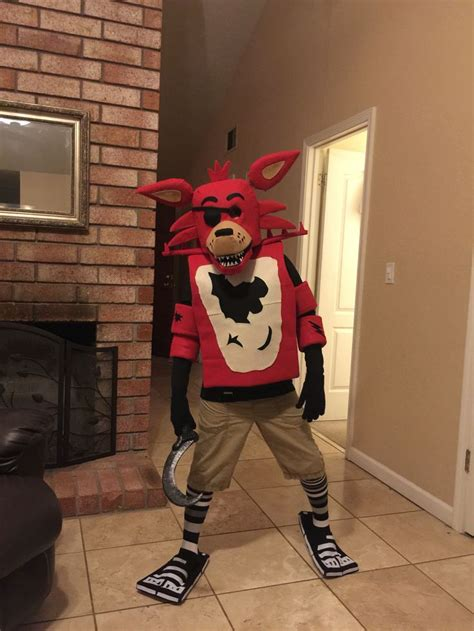 fnaf homemade foxy costume  son loved  time  sell