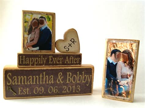 Wedding Anniversary After by Personalized Wedding Gift Decoration Happily After