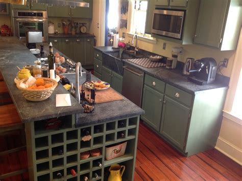 Do It Yourself Kitchen Countertops Do It Yourself Soapstone Countertops Sink Traditional Kitchen New York By M Teixeira