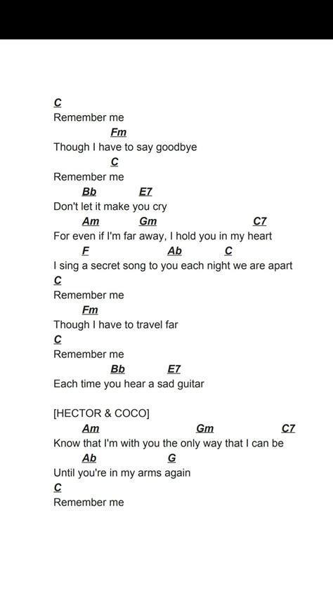 coco remember me chord coco quot remember me quot ukulele chords pinterest ukulele