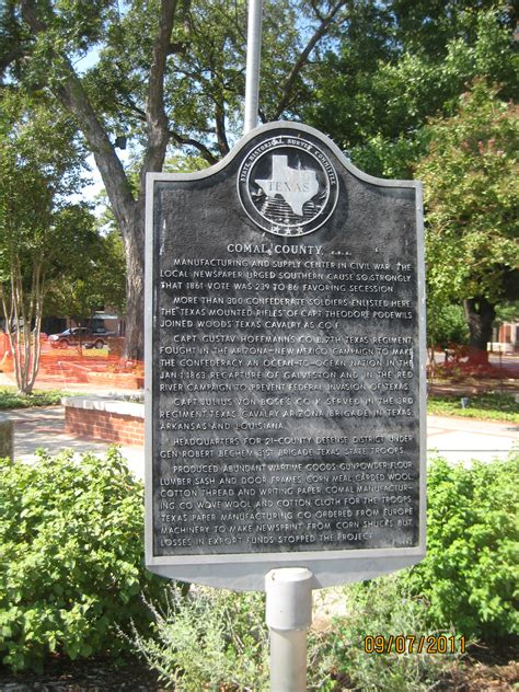 Comal County Records Comal County Historical Commission Comal County C S A