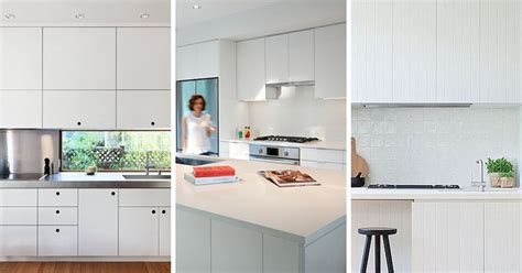 modern kitchen ideas with white cabinets kitchen design idea white modern and minimalist