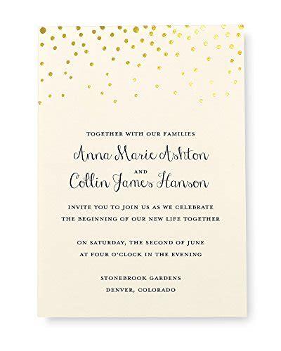 gartner studios place cards gold foil dots pack of 50 by gartner studios gold foil dot invitation kit set of 50