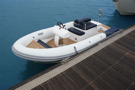 inflatable boat tender 5m jet tender by rib x inflatable boat pinterest