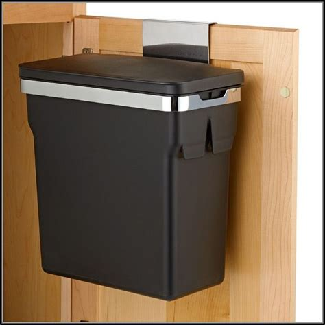 under cabinet trash can with lid in cabinet trash can with lid cabinet home decorating