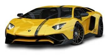 yellow lamborghini aventador car png image pngpix