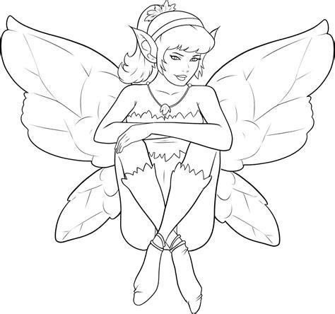 34 Awesome And Free Fairy Coloring Pages For Adults Free Coloring Pages Fairies
