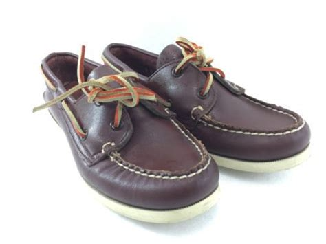 boat shoes non marking sperry top sider brown boat shoes women 6 m non marking
