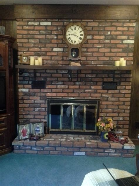 need updating for an fashioned fireplace