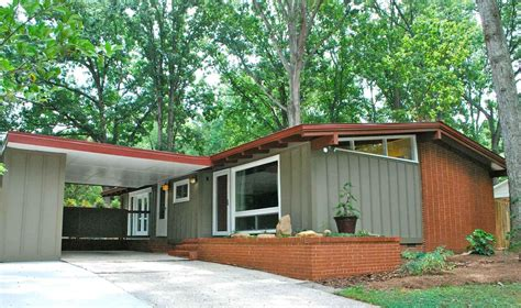 mid century modern homes exterior painting category mid century modern home exterior paint