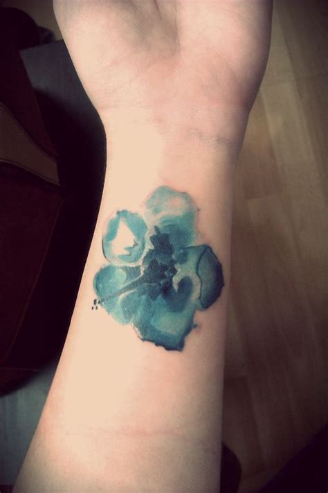 watercolor tattoo wrist watercolor flower wrist for tattooshunt